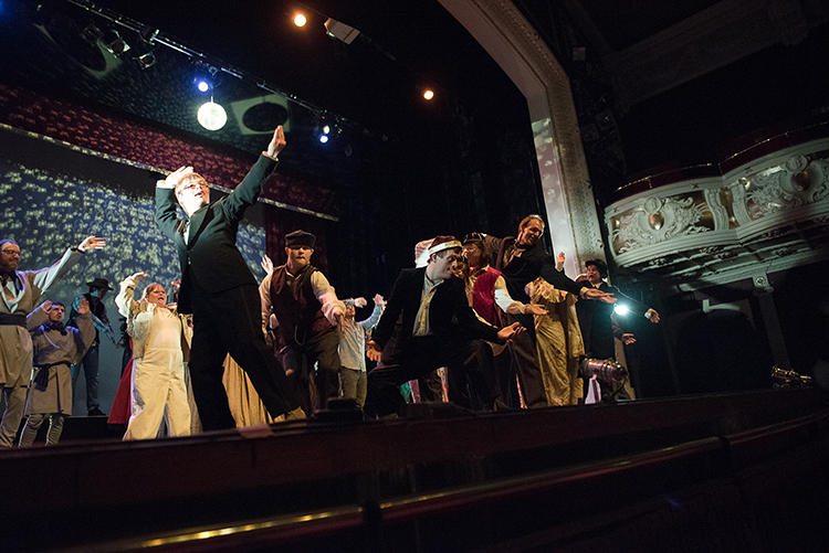 The Occasion Theatre - Around The World In Eighty Days